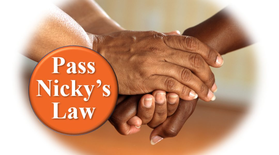 Finally, Nicky's Law has been passed!